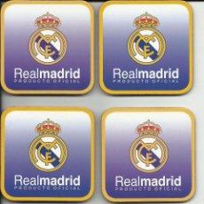 Coleccionismo deportivo: SEIS POSAVASOS DEL REAL MADRID. Lote 53789417