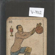 Coleccionismo deportivo: CROMO CARTA-BARAJA FUTBOL- 10 COPAS - BORDOY EUROPA -REVERSO ARTISUS EUROPA - CH. PI - (V-4122). Lote 53958774
