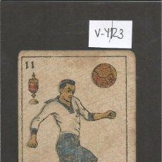 Coleccionismo deportivo: CROMO CARTA-BARAJA FUTBOL- 11 COPAS - PELAO EUROPA -REVERSO CROS EUROPA - CH. PI - (V-4123). Lote 53958836