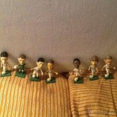 Coleccionismo deportivo: LOTE 8 FIGURAS PVC JUGADORES REAL MADRID . Lote 54017743