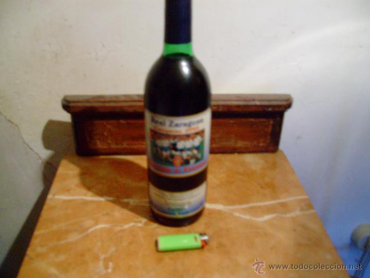 Coleccionismo deportivo: botella conmemorativa de la recopa del real zaragoza 1995. - Foto 2 - 54019239