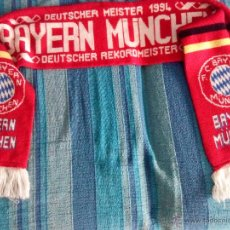 Coleccionismo deportivo: BUFANDA F. C. BAYERN MÜNCHEN MEISTER 1994. Lote 54308296