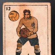Coleccionismo deportivo: CROMO FUTBOL ZAMORA -MONTESINOS-(ESPAÑOL), JUEGO INFANTIL DE FOOT-BALL, COLECCION 48 DIBUJOS. Lote 54413293
