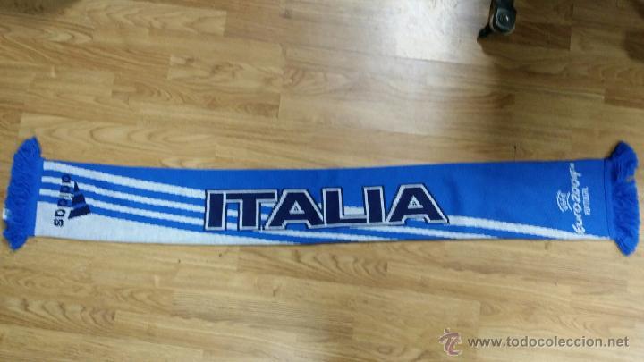 BUFANDA ITALIA EUROCOPA 2004 - ADIDAS (Coleccionismo Deportivo - Merchandising y Mascotas - Futbol)