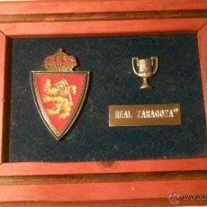 Coleccionismo deportivo: CUADRO REAL ZARAGOZA CAMPEÓN COPA DEL REY. Lote 54772660