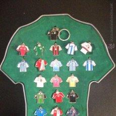 Coleccionismo deportivo: COLECCIÓN LLAVEROS CAMISETAS LIGA 2003 - MARCA - . Lote 54781913