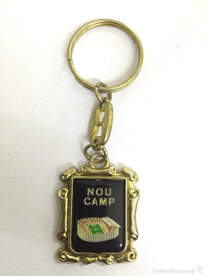 LLAVERO NOU CAMP (Coleccionismo Deportivo - Merchandising y Mascotas - Futbol)