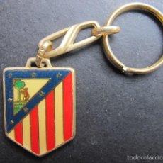 Coleccionismo deportivo: LLAVERO ESCUDO ATLETICO DE MADRID FUTBOL. Lote 55118247