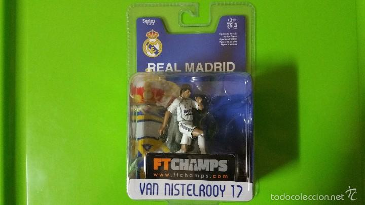 RUUD VAN NISTELROOY (MÍTICO DELANTERO DEL MANCHESTER UNITED Y REAL MADRID EN BLISTER ORIGINAL SN ABR (Coleccionismo Deportivo - Merchandising y Mascotas - Futbol)