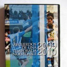 Coleccionismo deportivo: DVD REAL SOCIEDAD RECUERDOS DE UNA TEMPORADA INOLVIDABLE 2009-2010. Lote 95280931