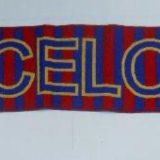 Coleccionismo deportivo: BUFANDA DEL FUTBOL CLUB BARCELONA. F.C. BARSA. TDKDEP2. Lote 55704219