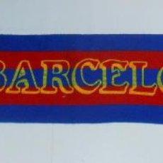 Coleccionismo deportivo: BUFANDA DEL FUTBOL CLUB BARCELONA. F.C. VISCA EL BARSA. TDKDEP2. Lote 55704238