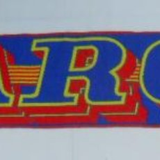 Coleccionismo deportivo: BUFANDA DEL FUTBOL CLUB BARCELONA. F.C. BARSA. TDKDEP2. Lote 55704295