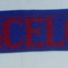 Coleccionismo deportivo: BUFANDA DEL FUTBOL CLUB BARCELONA. F.C. BARSA. TDKDEP2. Lote 55708202