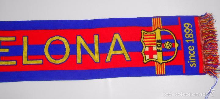 Coleccionismo deportivo  BUFANDA DEL FUTBOL CLUB BARCELONA. F.C. BARSA.  TDKDEP2 - Foto 2 59fda7b6831