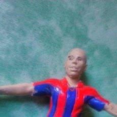 Coleccionismo deportivo: FIGURA PVC NO FTCHAMPS RONALDO FC BARCELONA BRASIL 11 CM. Lote 57740676