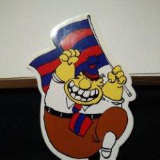 Coleccionismo deportivo: PEGATINA DEL FUTBOL CLUB FC BARCELONA F.C BARÇA CF JORDI CULE. Lote 56049991