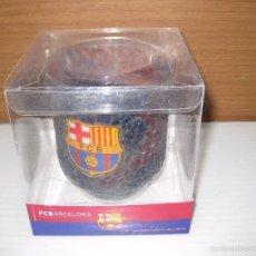 Coleccionismo deportivo: VASO TRENCADIS OFICIAL F.C.BARCELONA. Lote 56076685