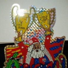 Coleccionismo deportivo: PEGATINA DEL FUTBOL CLUB FC BARCELONA F.C BARÇA CF COPA LIGA COPA DE EUROPA BARÇA. Lote 56078910