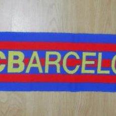 Coleccionismo deportivo: BUFANDA FUTBOL CLUB F.C. BARCELONA. BARSA. 1989. TDKDEP5. Lote 56465434