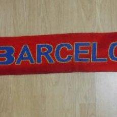Coleccionismo deportivo: BUFANDA DEL FUTBOL CLUB BARCELONA. F.C. BARSA. 1889. TDKDEP5. Lote 56465461
