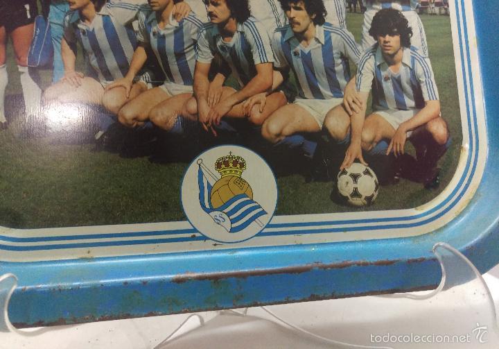 Coleccionismo deportivo: FUTBOL BANDEJA REAL SOCIEDAD 1980-81 CAMPEON - TXAPELDUNAK - Foto 2 - 56572451