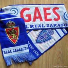Coleccionismo deportivo: BUFANDA SCHIARPE SCARF FUTBOL FOOTBALL CALCIO REAL ZARAGOZA GAES. Lote 83120639