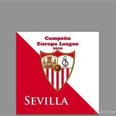 Coleccionismo deportivo: AZULEJO 15X15 DEL SEVILLA CAMPEÓN DE LA UEFA 2016. Lote 56934399