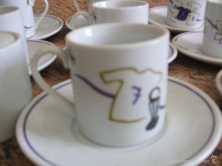 Coleccionismo deportivo: REAL MADRID - JUEGO DE CAFE - COLECCIÓN TAZAS 1998 COPA EUROPA SEPTIMA - Foto 8 - 57058846