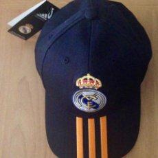 Coleccionismo deportivo: GORRA REAL MADRID FUTBOL. Lote 57846971