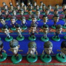 Coleccionismo deportivo: 67 FIGURA SOCCERSTARZ CRISTIANO RONALDO MESSI NEYMAR SERGIO RAMOS MATA ISCO REAL MADRID FC BARCELONA. Lote 57921459