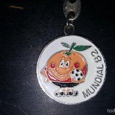 Coleccionismo deportivo: LLAVERO MUNDIAL 82 NARANJITO . Lote 86872240