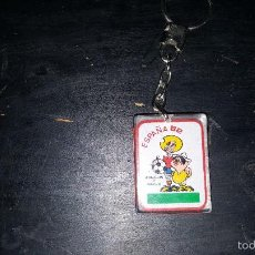 Coleccionismo deportivo: LLAVERO MUNDIAL ESPAÑA 82 1982 IDALGUIN Y PANCHO. Lote 57956380