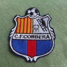 Coleccionismo deportivo: FELPA ESCUDO DEL CLUB DE FUTBOL CORBERA. Lote 58416833