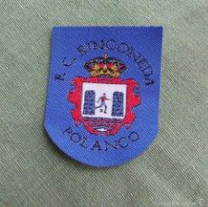 Coleccionismo deportivo: FELPA ESCUDO DE FUTBOL CLUB RINCONEDA - POLANCO. Lote 58416841
