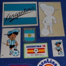 Coleccionismo deportivo: LOTE DE PEGATINAS - MUNDIAL ARGENTINA 78. Lote 58546972