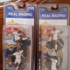 Coleccionismo deportivo: FIGURAS JUGADORES REAL MADRID PRECINTADAS. PRODUCTO OFICIAL DEL RM.. Lote 58600471