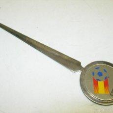 Coleccionismo deportivo: ABRECARTAS MUNDIAL FUTBOL ESPAÑA 82. Lote 58640213