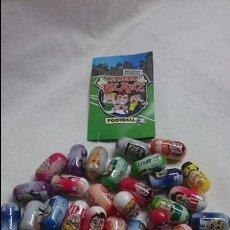 Coleccionismo deportivo: LOTE DE 36 STREET BEANZ FOOTBALL. Lote 58652408