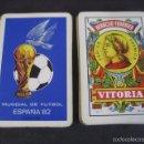 Coleccionismo deportivo: BARAJA ESPAÑOLA FOURNIER. MUNDIAL DE FUTBOL ESPAÑA 1982. Lote 58947945