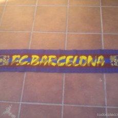 Coleccionismo deportivo: BUFANDA FC BARCELONA. Lote 58984690