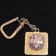 Coleccionismo deportivo: ANTIGUO LLAVERO FUTBOL CLUB FC BARCELONA F.C BARÇA CF . Lote 61259619