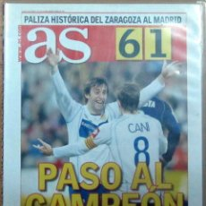 Coleccionismo deportivo: DVD REAL ZARAGOZA 6 REAL MADRID 1 COPA DEL REY FEBRERO 2006. Lote 156015138