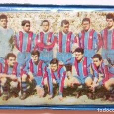 Coleccionismo deportivo: BILLETERA / CARTERA EQUIPO FUTBOL FC CLUB BARCELONA BARÇA AÑOS 60 (10 X 7,5 CM). ESCUDO. Lote 61772540