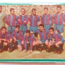 Coleccionismo deportivo: BILLETERA / CARTERA EQUIPO FUTBOL FC CLUB BARCELONA BARÇA AÑOS 60 (13 X 9,5 CM).. Lote 61772684