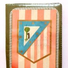 Coleccionismo deportivo: BILLETERA / CARTERA EQUIPO FUTBOL CLUB ATLÉTICO DE MADRID AÑOS 60 (13 X 9,5 CM). ESCUDO. Lote 61773036
