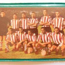 Coleccionismo deportivo: BILLETERA / CARTERA EQUIPO FUTBOL ATHLETIC CLUB DE BILBAO AÑOS 60 (10 X 7,5 CM).. Lote 61773492