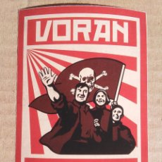 Collezionismo sportivo: PEGATINA ULTRAS-HOOLIGANS ST SANKT PAULI VORAN. Lote 62184744