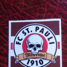 Collezionismo sportivo: PEGATINA ULTRAS-HOOLIGANS ST SANKT PAULI 1910. Lote 62184932