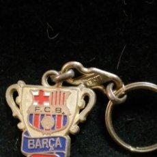 Coleccionismo deportivo: LLAVERO DEL FUTBOL CLUB FC BARCELONA F.C BARÇA CF . Lote 62599940